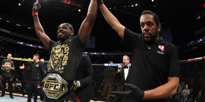 Jon Jones wrestling base makes him UFC champion