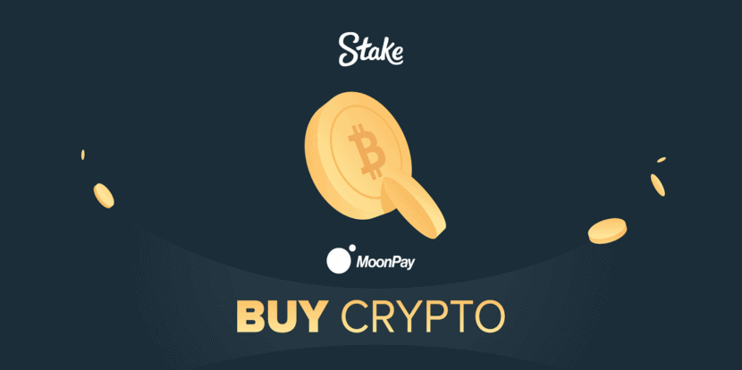 Buy crypto inside betting site Stake