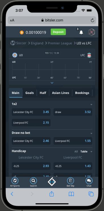 betting-markets-Bitsler-mobile