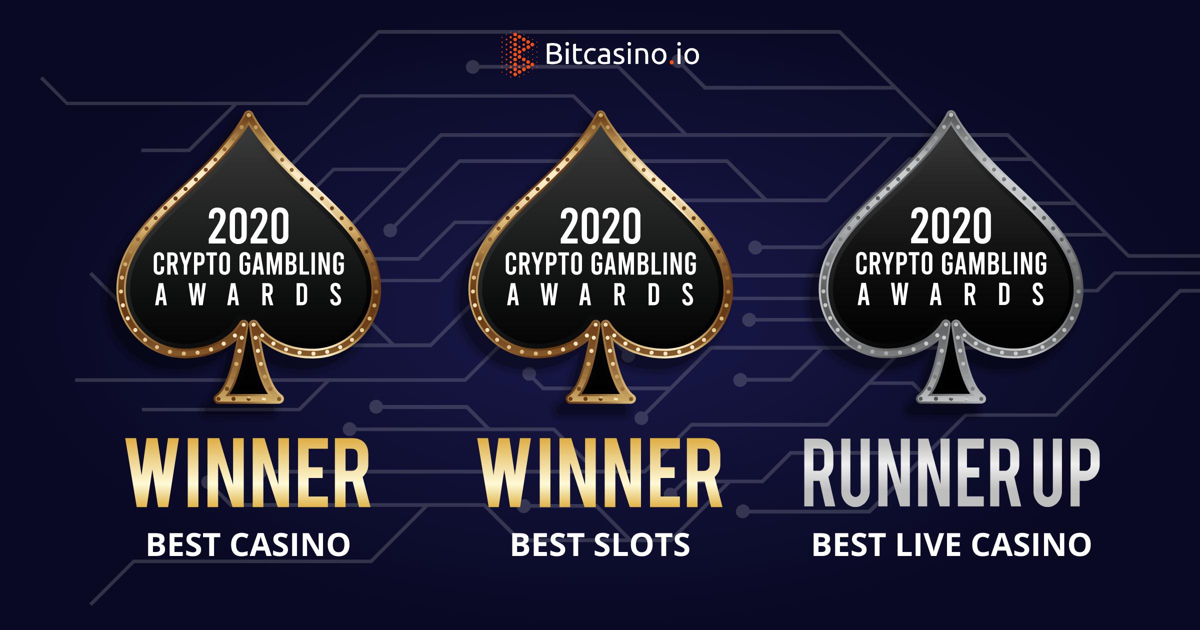 Crypto Gambling Awards won by BitCasino