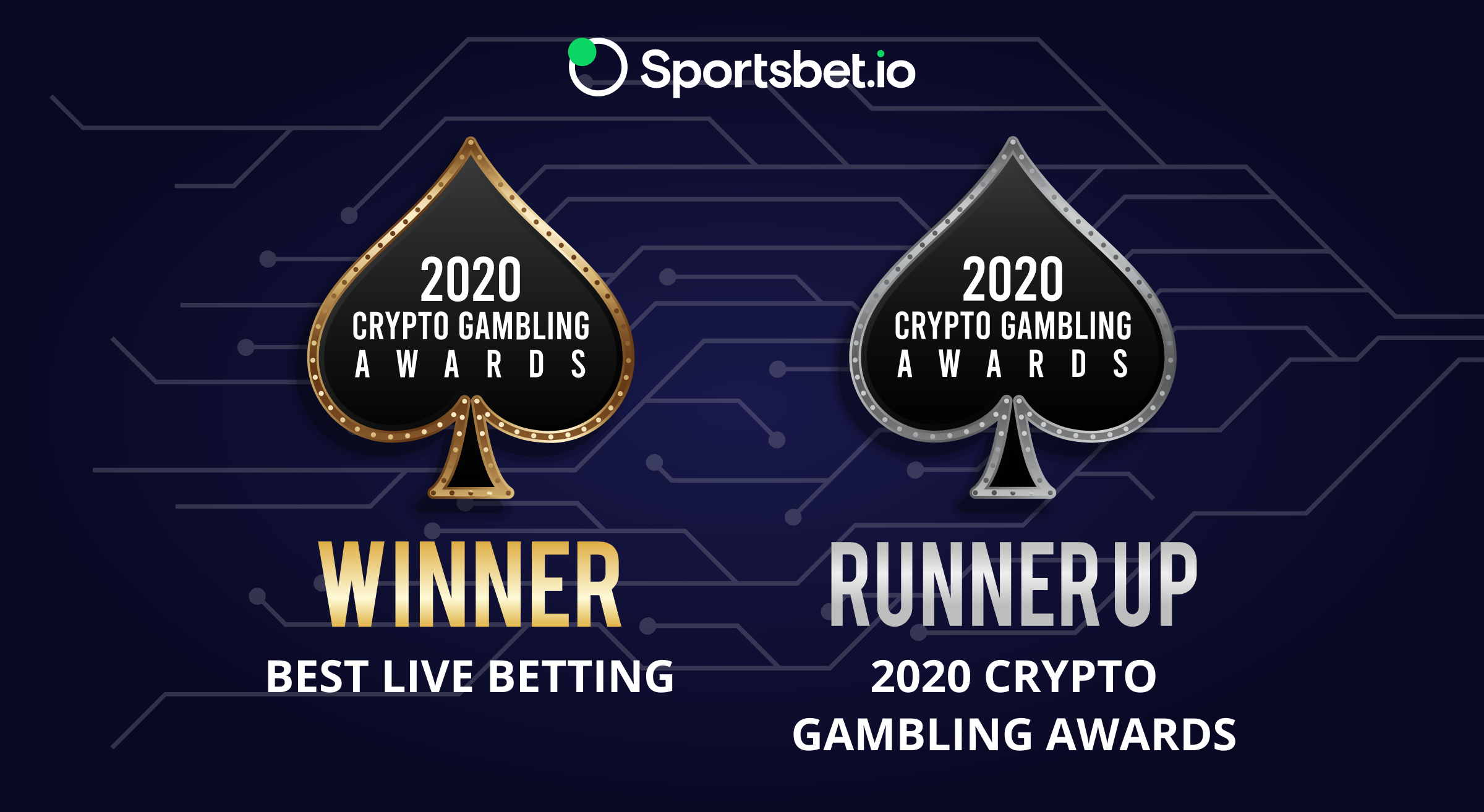 Crypto Gambling Awards won by Sportsbet